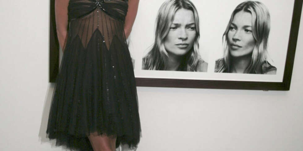 Bilder av modellen Kate Moss er solgt til svimlende summer. (Foto: WireImage/All Over)