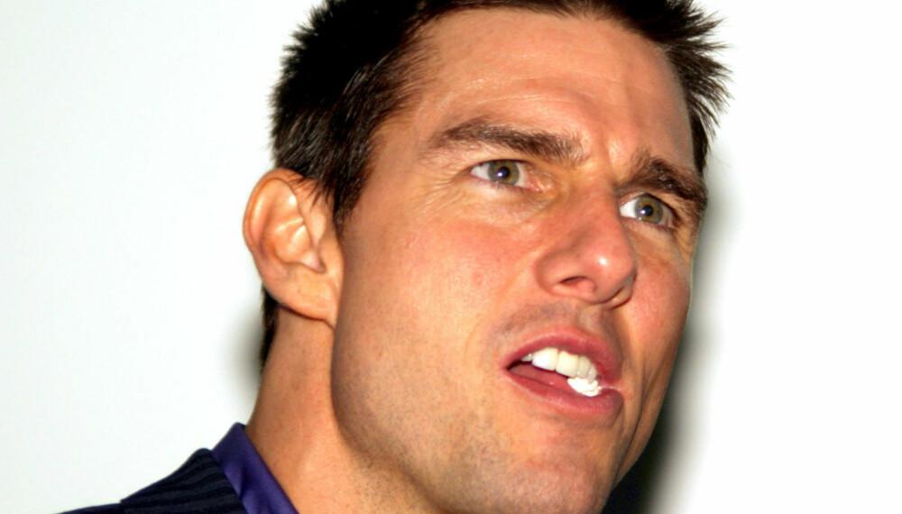 Tom Cruise er en av de uheldige mennene som er kåret til verdens mest usexy mann. (Foto: WireImage/All Over)