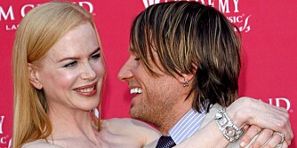 FORELDRE: Nicole og Keith ønsket ei lita jente velkommen 7. juli 2008