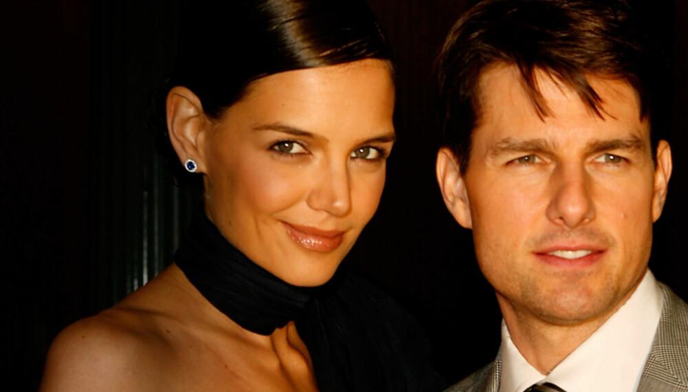 - Kult at Katie går med høye hæler, selv om hun er gift med lave Tom Cruise, sier moteansvarlig i Det Nye, Vibeke Stiansen. (Foto: WireImage/All Over Press)