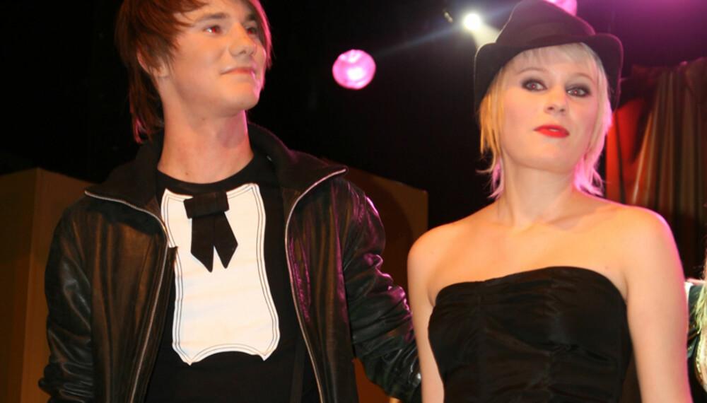 Her har Erik og Christine nettopp blitt utropt til vinnere av Visa Norges kåring. (Alle foto: Elin Davidsen)