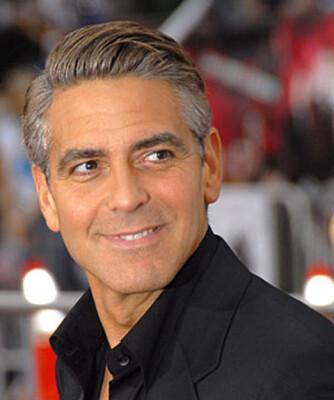 George Clooney har tatt kokain.