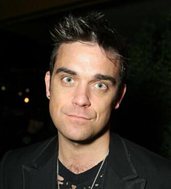 Robbie Williams er langt fra mors beste barn.