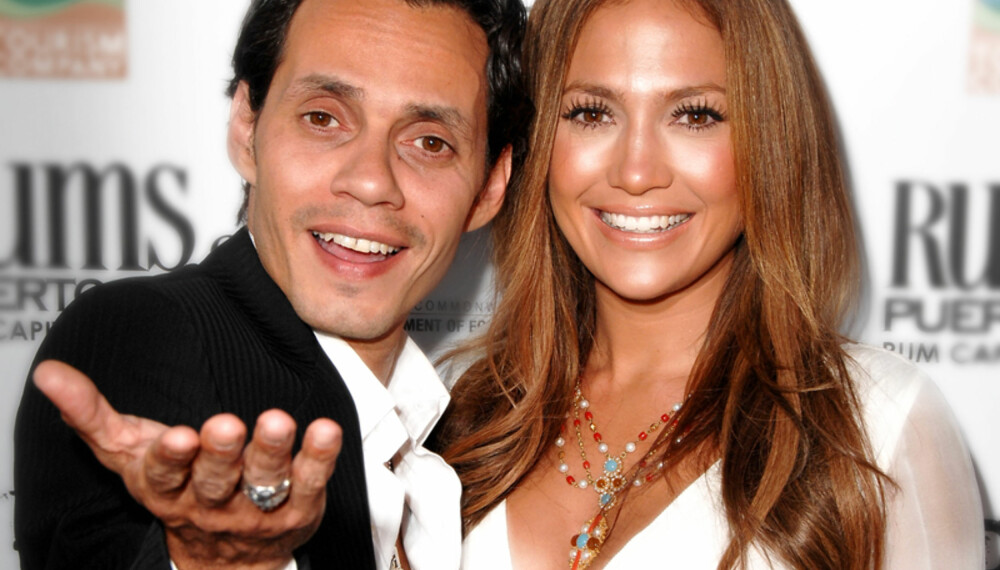 Marc Anthony har bladd opp 300 000 dollar for en diamantring til kona Jennifer Lopez. (Foto: WireImage)