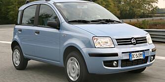Fiat Panda Natural Power: Testens klare vinner med 251 kjørte kilometer!