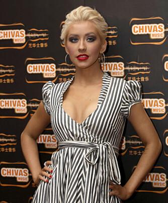 Det gjør også Christina Aguilera.