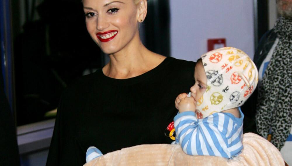 Gwen Stefani har kastet seg på babybølgen. Sangeren fødte sin førstefødte, sønnen Kingston James McGregor, i mai i fjor.