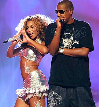 """Beyonce og Jay-Z er supertalentfulle og supersexy sammen. Her fremfører de låten """"Deja Vu"""". (Foto: WireImage)"""