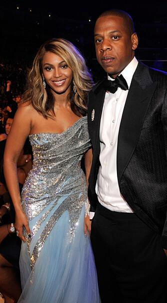 Beyoncé og Jay-Z er herved erklært som rette ektefolk. Vi gratulerer! (Foto: WireImage)