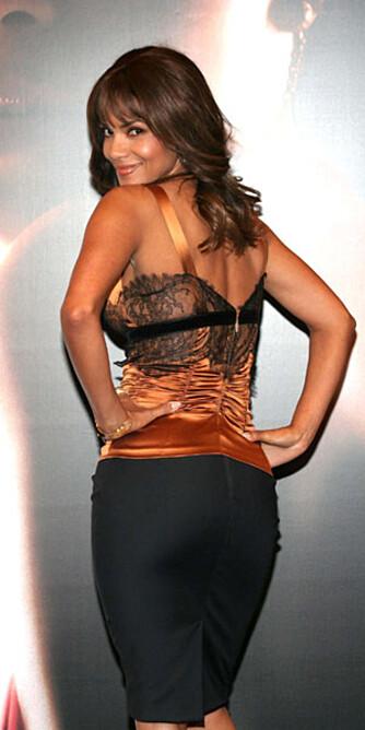 Halle Berry er en av verdens mest sexy kvinner. Men kommer ikke like høyt som Salma. (Foto: WireImage/All Over)