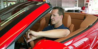 Den sjudobbelte F1-verdensmesteren Michael Schumacher har vært involvert i Ferrari California-prosjektet helt fra begynnelsen av.