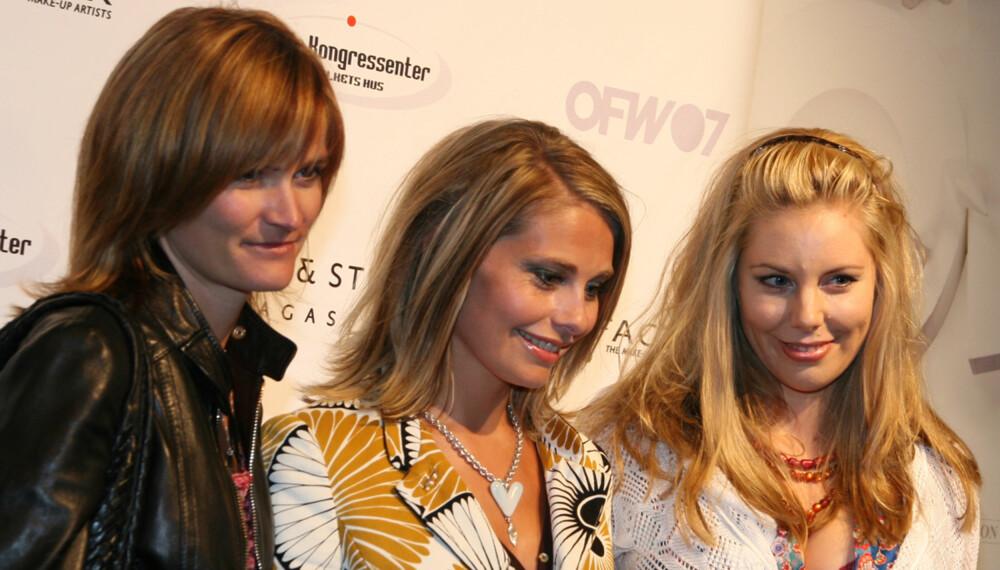 Marianne Ulrichsen, Elin Tvedt og Ane Håbjørg var blant kjendisene som strålte under åpningen av Oslo Fashion Week i går kveld. (Foto: Elin Davidsen)