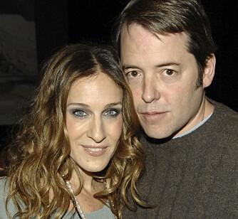 Det var Sarah Jessica Parkers bror som spleiset Sex og singelliv-stjernen med komiker Matthew Broderick. (Foto: WireImage/All Over Press)