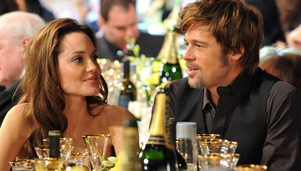 Angelina Jolie og Brad Pitt gikk fra undercover til under dyna, da de fant tonen som hemmelige agenter i Mr. & Mrs. Smith. (Foto: WireImage/All Over Press)