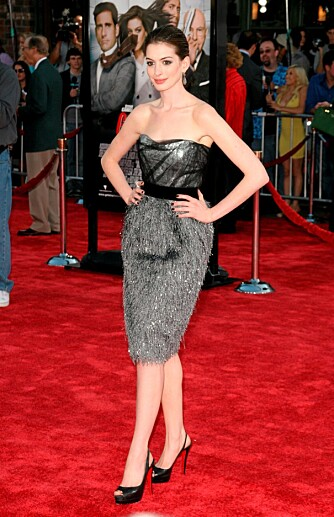 TYNN: Anne har blitt merkbart tynnere den siste tiden, og skal visstnok ha gått ned to kjolestørrelser.