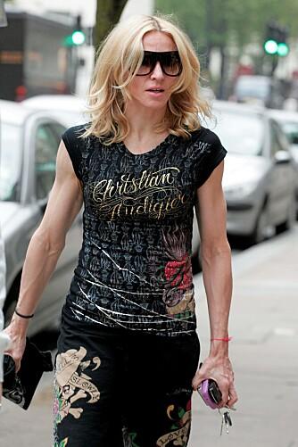 TRENER FOR MYE: Madonna trener altfor mye - hun har nærmest mannlige armer. Dette har gjort at hun nå er blodfattig.