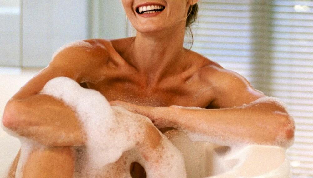 Med riktig stell holder du huden vakker.