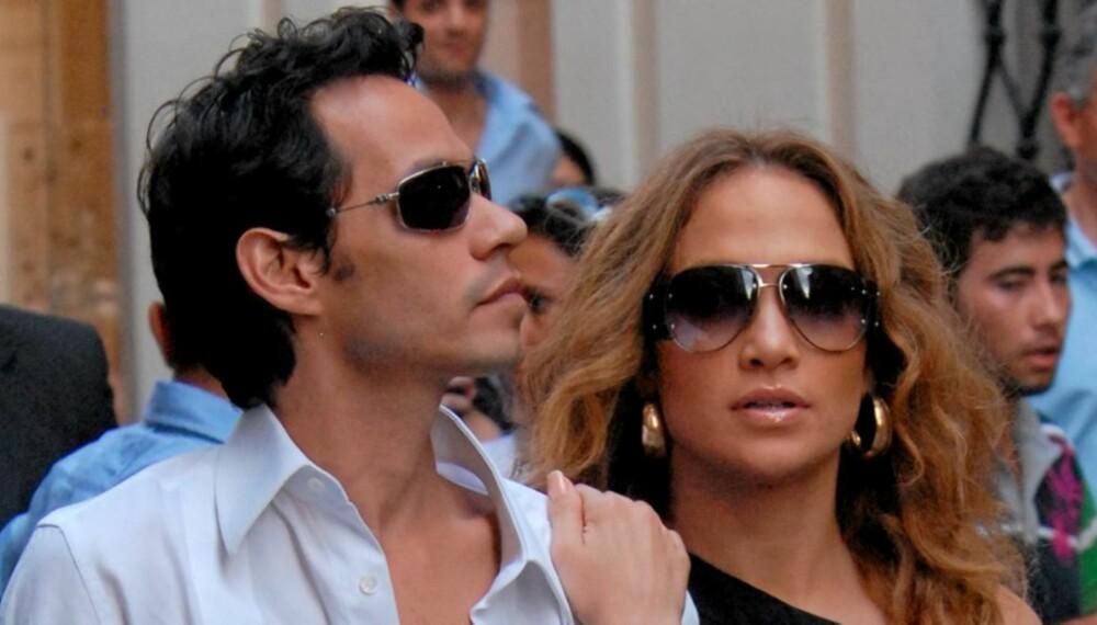 KREVENDE: J-Lo og Marc er krevende arbeidsgivere, og sliter derfor ut barenpikene sine med altfor mye jobbing.