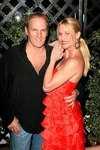 FORLOVET: Michael og Nicolette har vært forlovet siden mars 2006.