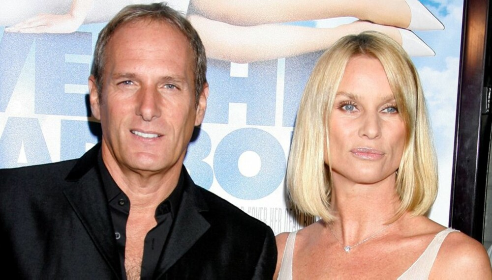 AVSLUTTET FORHOLDET: Michael og Nicolette har valgt å avslutte forholdet sitt på vennskapelig vis.