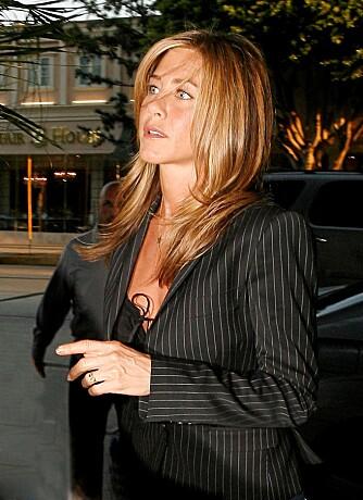 Courteney Cox har vært bekymret for sin venninne Jennifer Aniston.