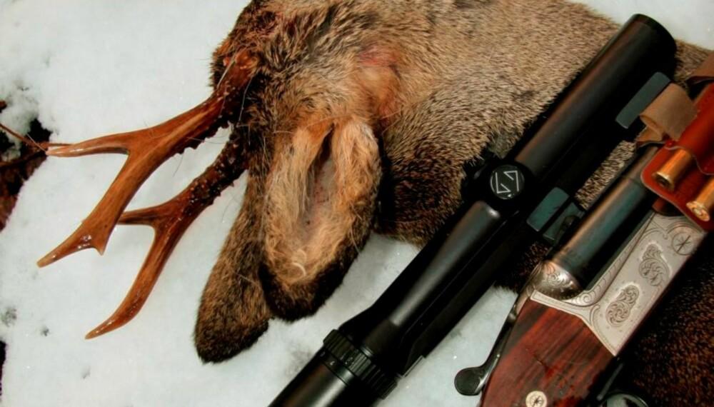 VINTEREN setter krav også til våpen og våpenbehandling. (Foto: Jørund Lien)