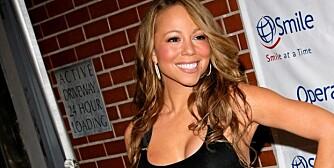 INGEN BARN: Mariah Carey vil ikke ha barn fordi hun frykter at en eventuell graviditet vil føre til at hun går opp i vekt.
