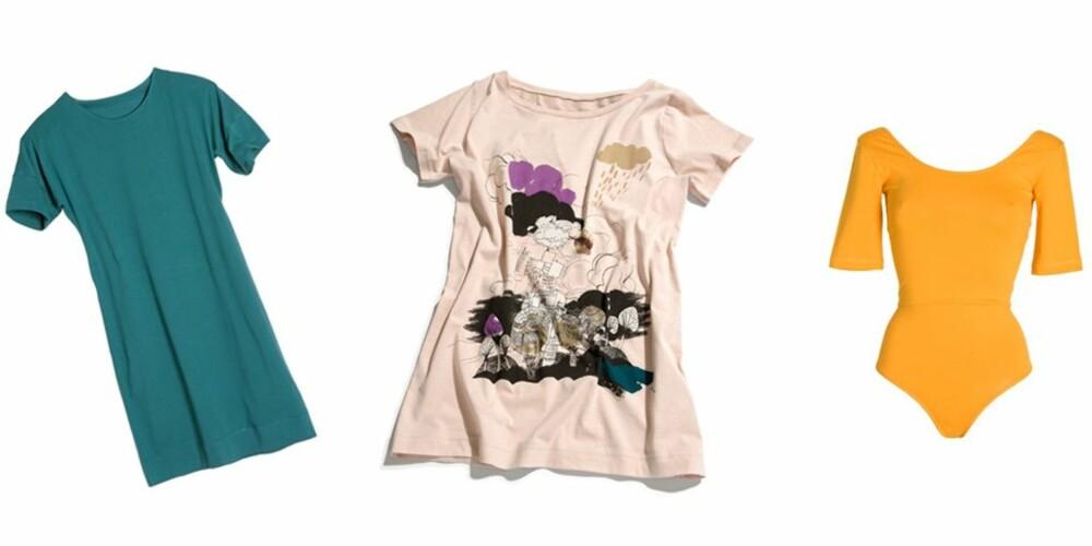 H&M har stort utvalg av topper, kjoler og bodysuits blant sine økologiske klær.