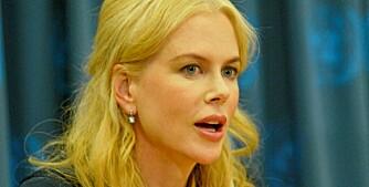 """I HARDTRENING: Nicole ønsker desperat å gå ned i vekt igjen for sin nye filmrolle i musikalen """"Nine""""."""