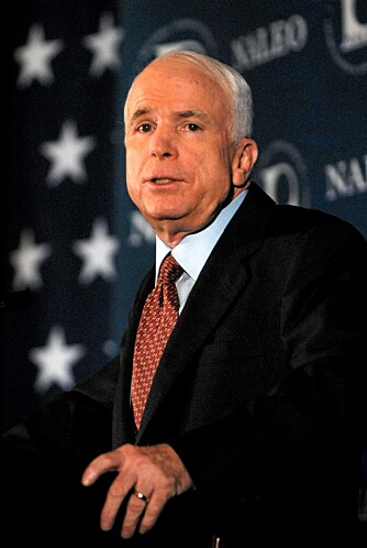 SKITNE TRIKS: McCain prøver å sverte motstanderen Obama gjennom en rekke reklamekampanjer.