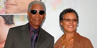 SKILLES: Morgan Freeman og kona Myrna skal skilles etter å ha vært gift i over 24 år