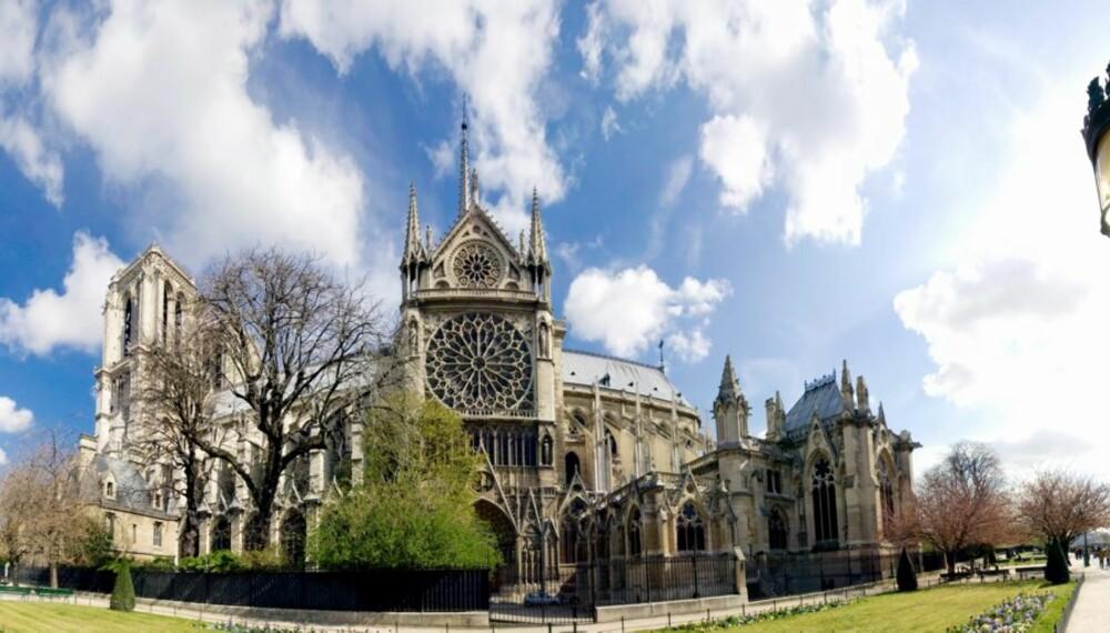 Notre Dame-katedralen i Paris.