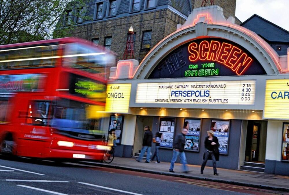 UAVHENGIG: Hvis restaurantlivet ikke frister, hva med en filmopplevelse? The Screen on the Green i Islingtons Upper Street er en av Londons siste operative indie-kinoer.