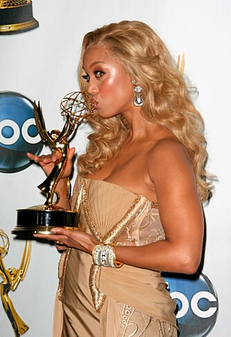 "VANT EMMY: Tyra Banks vant pris for sitt talkshow ""The Tyra banks Show"" under Daytime Emmy Awards 2008."