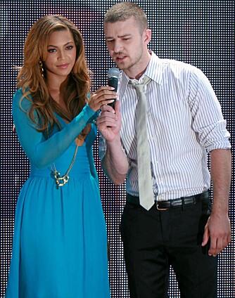 MUSIKALSK SAMARBEID: Beyoncé har blant andre fått hjelp av Justin Tiberlake på sitt kommende album.
