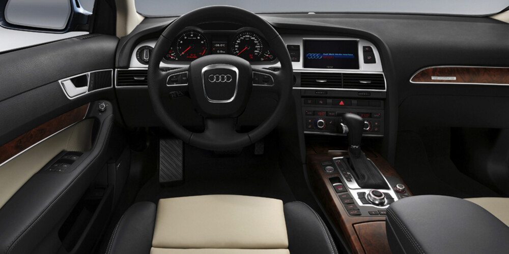 Utstyrslista er blitt mer omfattende. Nå kan du få Audi A6 med filskiftvarsler og filholdingsassistent.