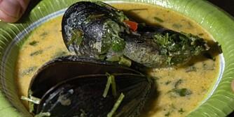 FYLDIG SUPPE: Her er det tilsatt litt kremfløte på slutten for å få en kremet og fyldig konsistens på suppa. (Foto: Yngve Ask)