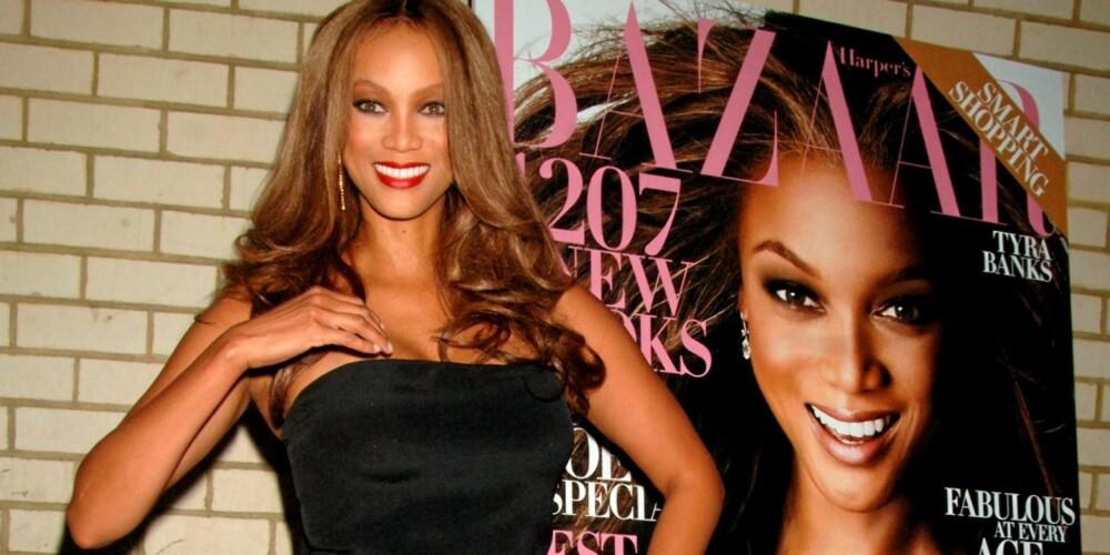 LAGT OPP SOM MODELL: Det er to år siden Tyra Banks la modellkarrieren på hylla. Nå konsentrerer hun seg om TV-jobbene sine.