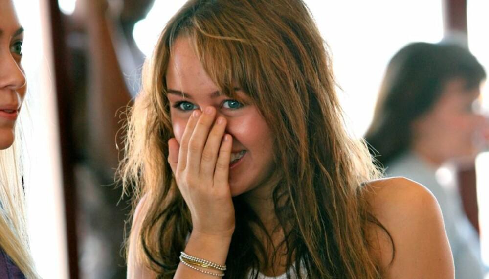 """FORTSETTER: Miley Cyrus har gjort """"Hannah Montana"""" til en farsott, og nekter for at hun har planer om å slutte."""