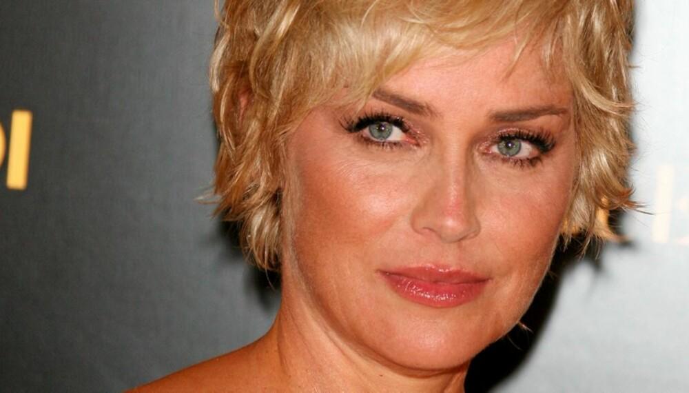 MISTET FORELDRERETTEN: Sharon Stone har mistet den fysiske foreldreretten til adoptivsønnen sin Roan.