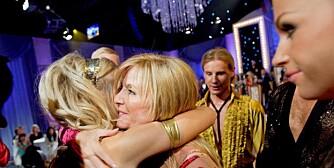 Hanne Krogh og Asmund Grinaker ble stemt ut av dansen og klemt ut av Lene Alexandra.