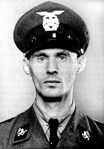BERG Interneringsleir - Johan Hüttner var en av de tre fangevokterne som ble dømt til livsvarig straffearbeid i landsvikoppgjøret.