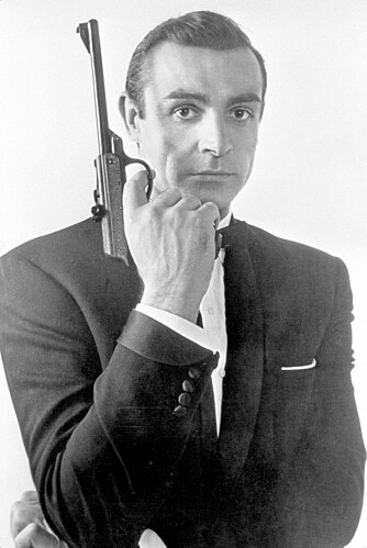 "ORIGINALEN: Sir Sean Connery er den originale James Bond. Her fra ""From Russia With Love"" fra 1963."