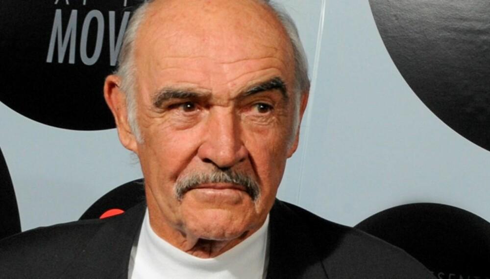 REKLAMERER FOR LV: Sir Sean Connery er den siste i rekken av kjendiser som poserer for Louis Vuittons Core Values kampanje.