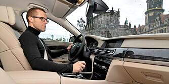 BMW 7-serie 2009 lansering Dresden