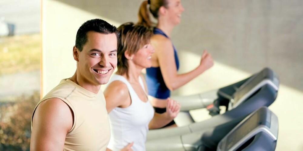 SPRING: Tredemølle eller løping ute? Velg det som passer deg best.