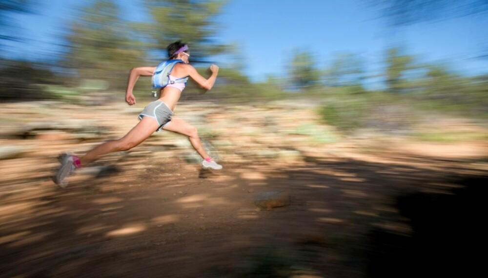 EFFEKTIV TRENING: Løper du regelmessig, blir du garantert i kjempeform og brenner masse kalorier.