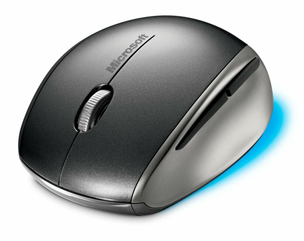 BATTERI: Explorer Mini Mouse bruker et vanlig AA-batteri.