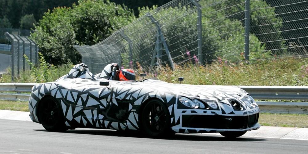 Mercedes SLR Speedster