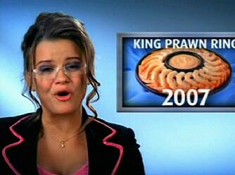 DE GODE DAGENE: Kerry Katona i frossenfisk-reklame anno 2007. Nå vet vi hvor Sarah Palin har hentet look-en sin fra.